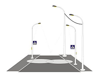 Система индикации пешеходного перехода