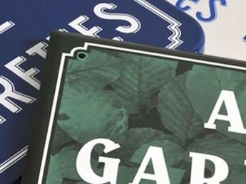 Таблички для улиц и домов